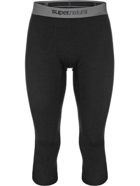 super.natural M's Base 3/4 Tights 175 Jet Black
